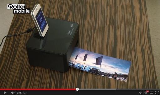 Rollei WiFi Photo Printer na Youtube